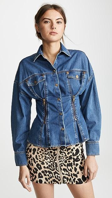 Versace Denim Shirt - Blue
