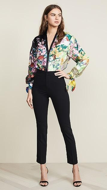 Versace V 领上衣