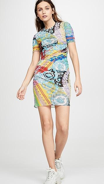 Versace Graphic Print Dress