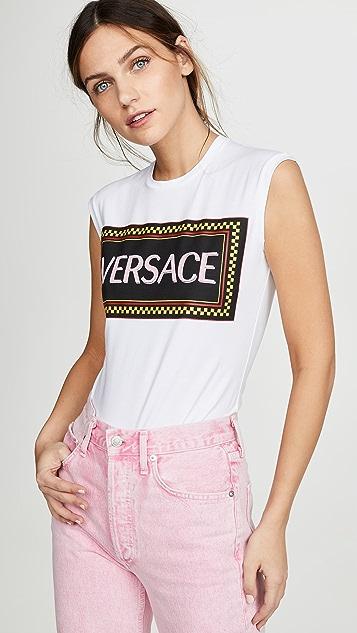 Logo Tee by Versace