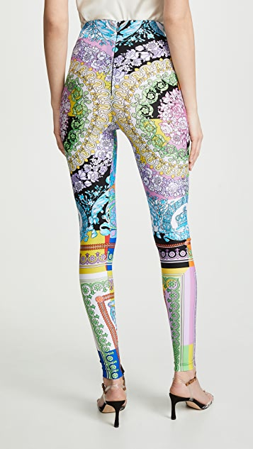 0193b265f8 Technicolor Baroque Leggings