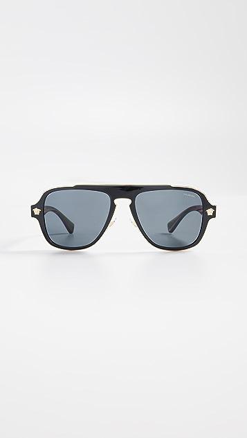 Versace VE2199 Aviator Sunglasses