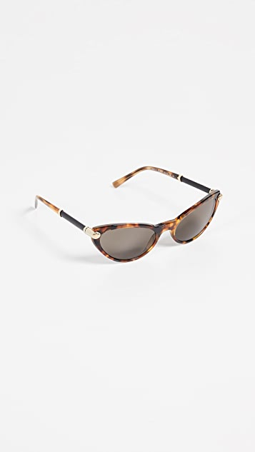 Versace Narrow Cateye Sunglasses