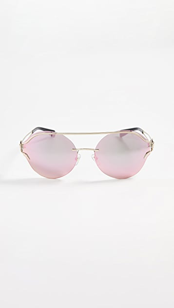 Versace Baroque Square Sunglasses