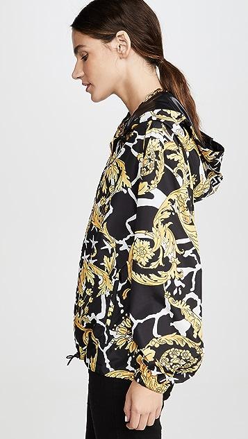 Versace 印花短夹克