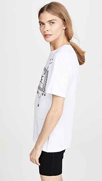 Versace Safety Pin Logo T-Shirt
