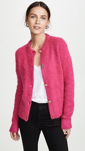Versace Fuzzy Cardigan
