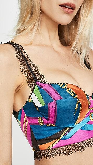 Versace Top Tessuto