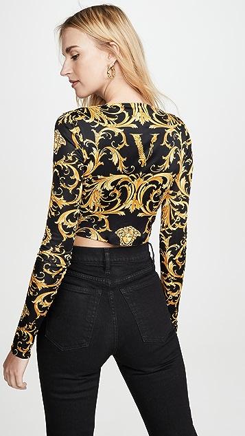 Versace Jersey Top