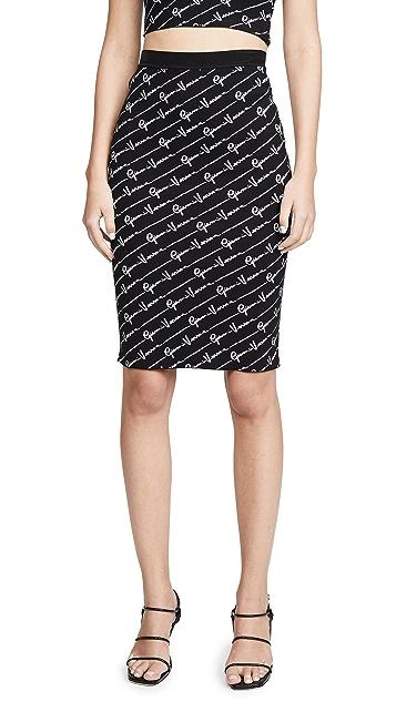 Versace Трикотажная юбка