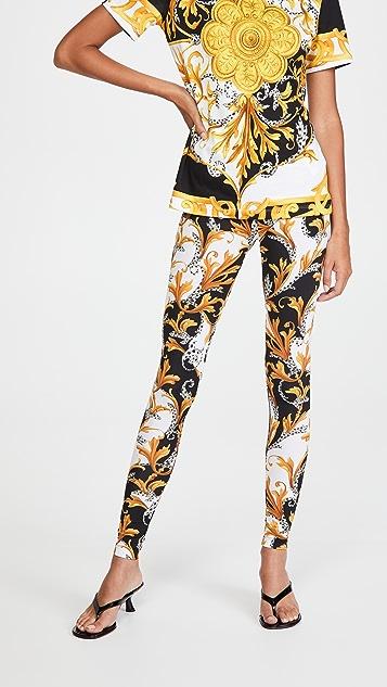 Versace Pantaloni Leggings