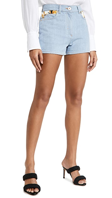 Versace Donna 牛仔布短裤