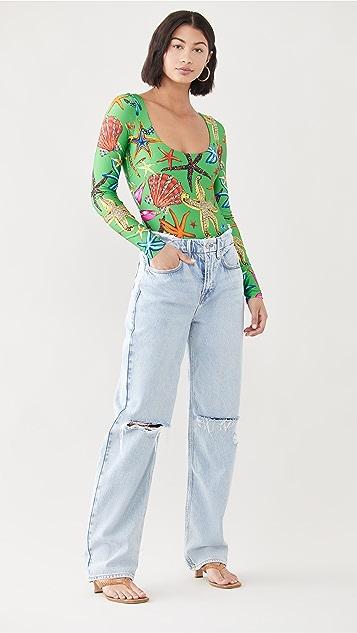 Versace Jersey Bodysuit