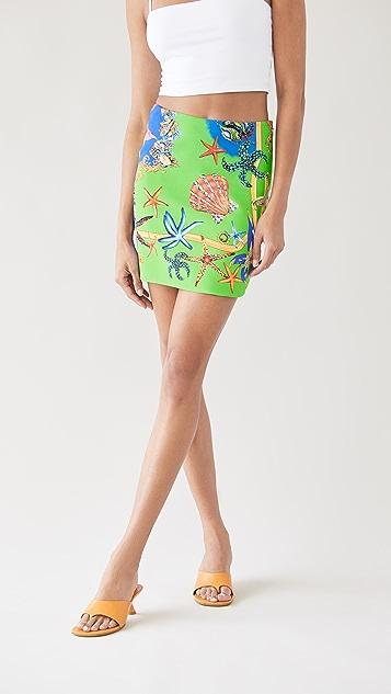 Versace 半身裙