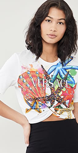 Versace - Cropped T-Shirt