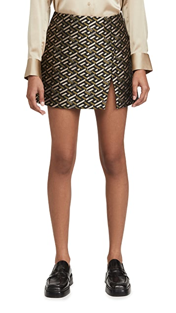 Versace Slit Skirt