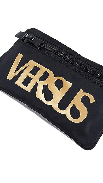 Versus Versace Nylon Logo Pouch