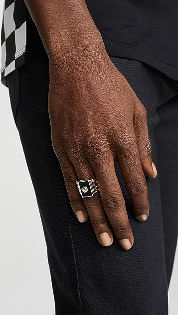 Versus Versace Emblem Ring