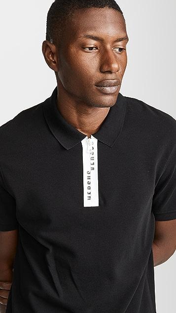 Versus Versace Placket Logo Polo Shirt