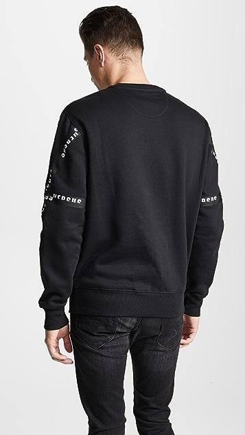Versus Versace Logo Tape Sweatshirt