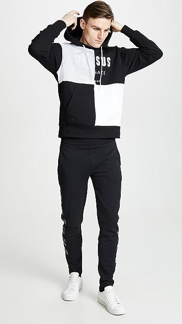 Versus Versace Abb. Sportivo - Pant Slim Felpa  Uomo