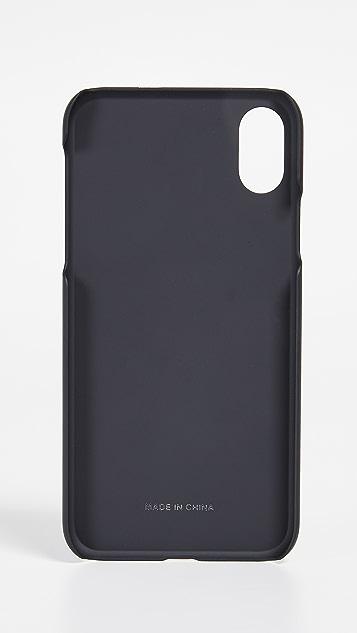 Versus Versace Lion Head Pin iPhone X Case