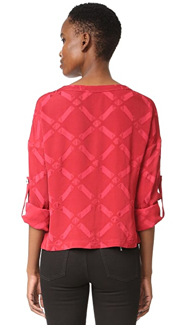 Versus Long Sleeve Blouse