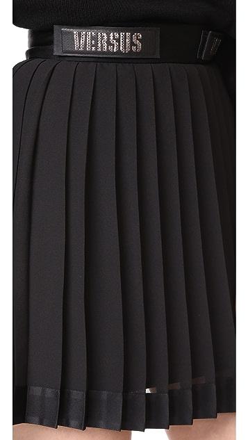 Versus Pleated Miniskirt