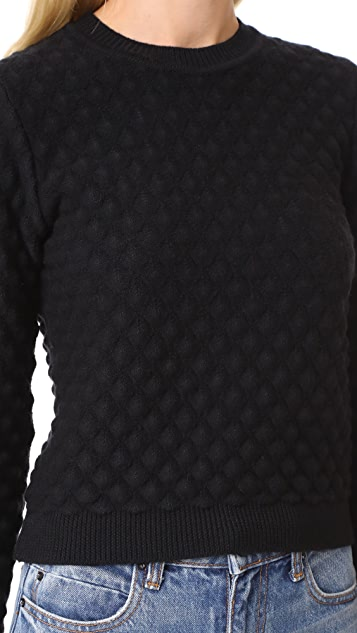 Versus Cropped Sweater
