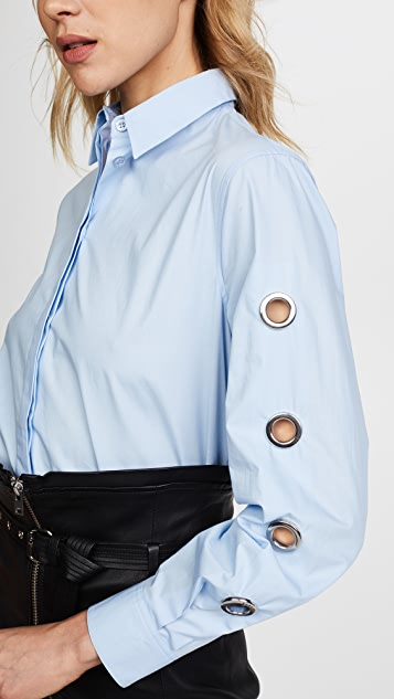 Versus Collared Rivet Shirt