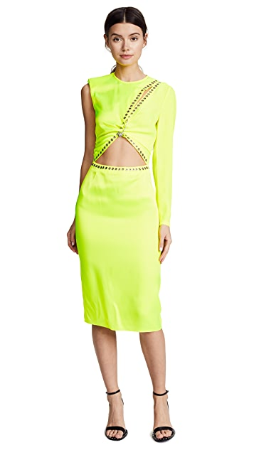 Versus Cocktail Dress with Cutout