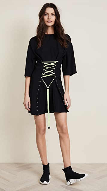 Versus Woven Dress with Corset