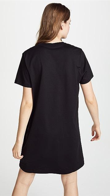 Versus Versus Logo T-shirt Dress