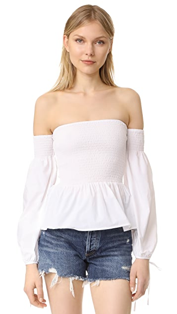 VETIVER Winona Long Sleeve Top