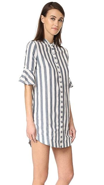 VETIVER Ali Ruffle Dress