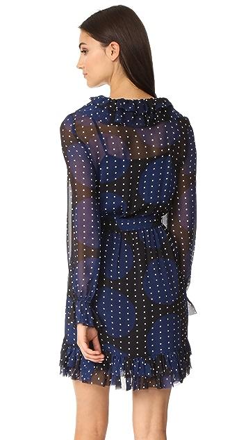 VETIVER Fool in the Rain Ruffle Mini Dress