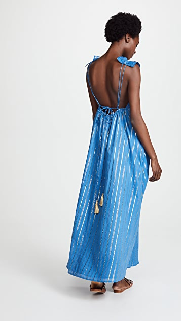 VETIVER Spanish Fly Maxi Dress
