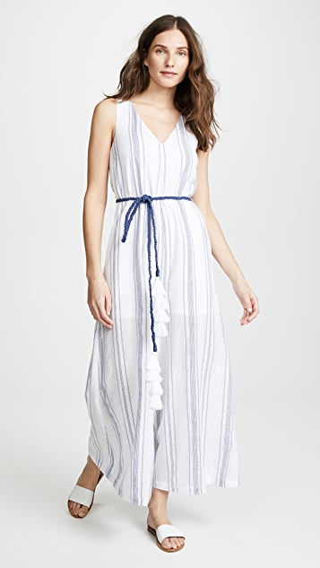 VETIVER Sweetwater Wide Leg Jumpsuit
