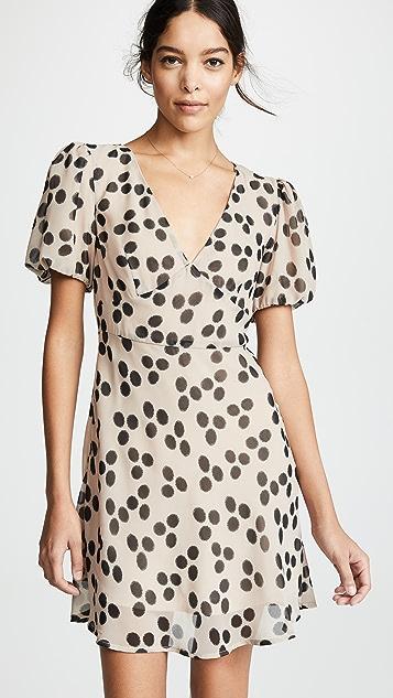 VETIVER Casanova Puff Sleeve Dress