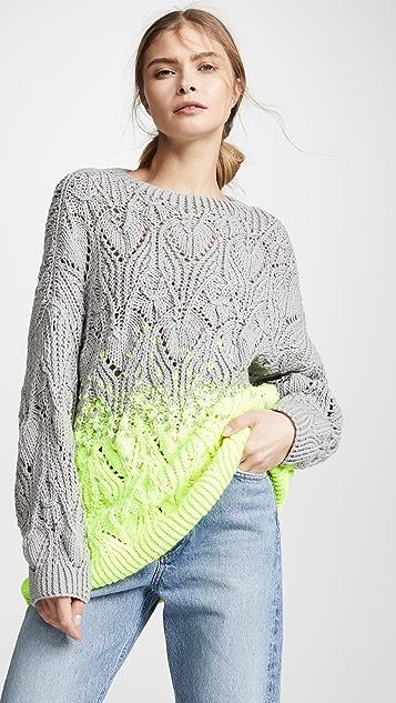 e11fb944e6b0 Vika Gazinskaya Ombre Hand Knit Sweater