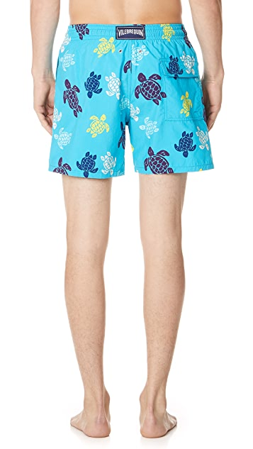 Vilebrequin Tortues Multicolor Moorea Trunks