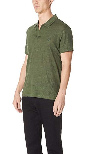 Vilebrequin Linen Jersey Polo Shirt