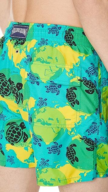 Vilebrequin Mappemode Dots Trunks