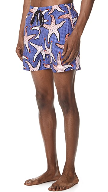 Vilebrequin Starfish Art Swim Trunks