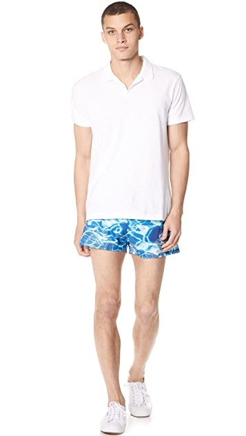Vilebrequin Splash Stretch Swim Trunks