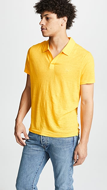 Vilebrequin Linen Pyramid Polo Shirt