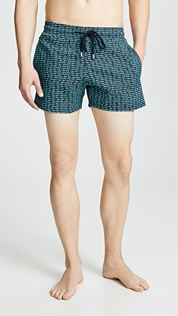 Vilebrequin Modernist Fish Swim Trunks