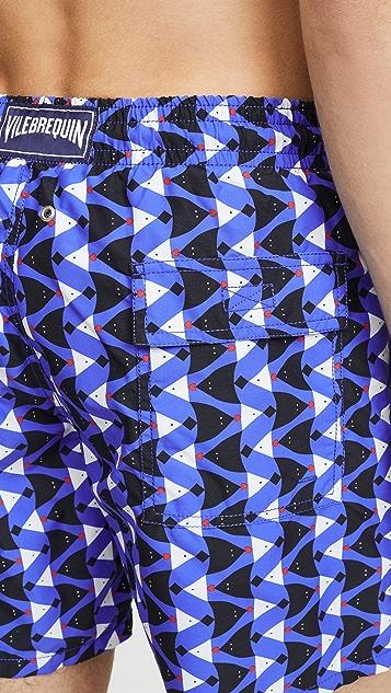 Vilebrequin Re Mi Fa Soles Swim Shorts