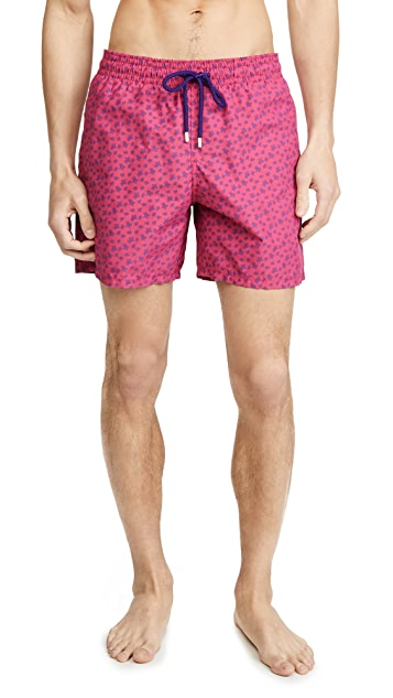 Vilebrequin Micro Ronde Des Tortues Swim Trunks