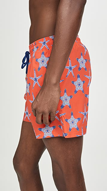 Vilebrequin Starfish Dance Superflex Moorise Swim Trunks